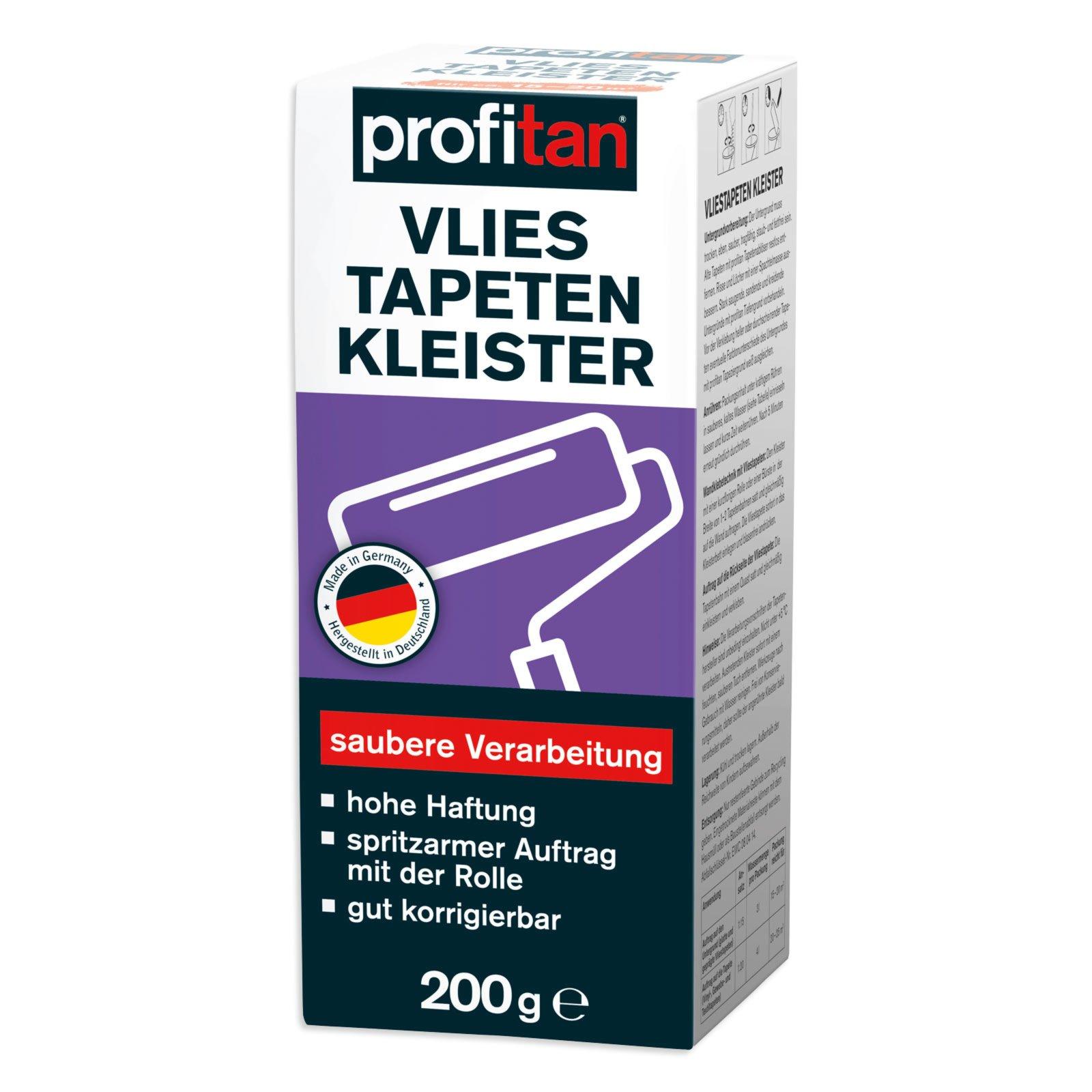 profitan Vliestapeten-Kleister - 200 g - spritzarm
