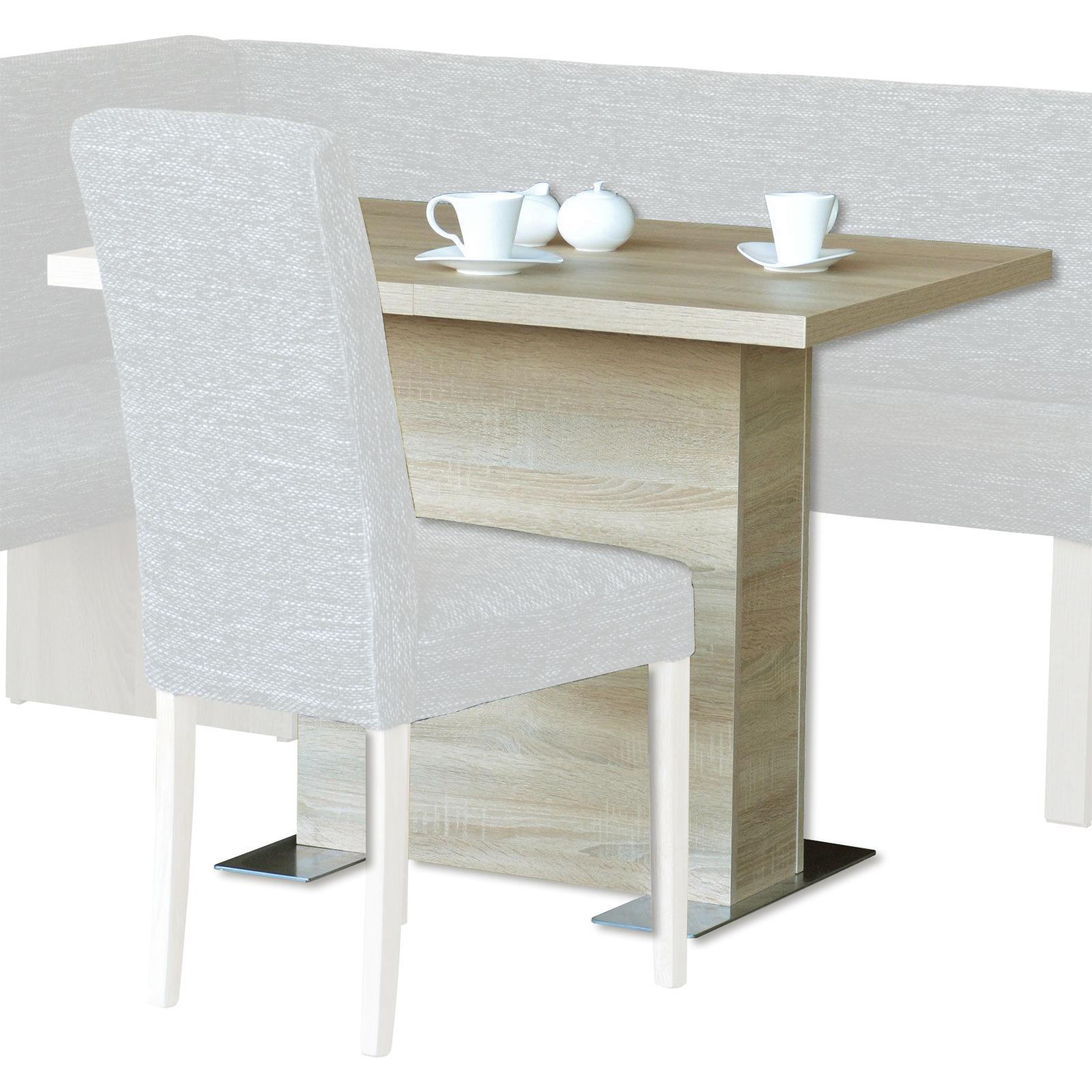 Tisch Sonoma Eiche Ausziehbar 76 Cm Hoch Online Bei Roller Kaufen