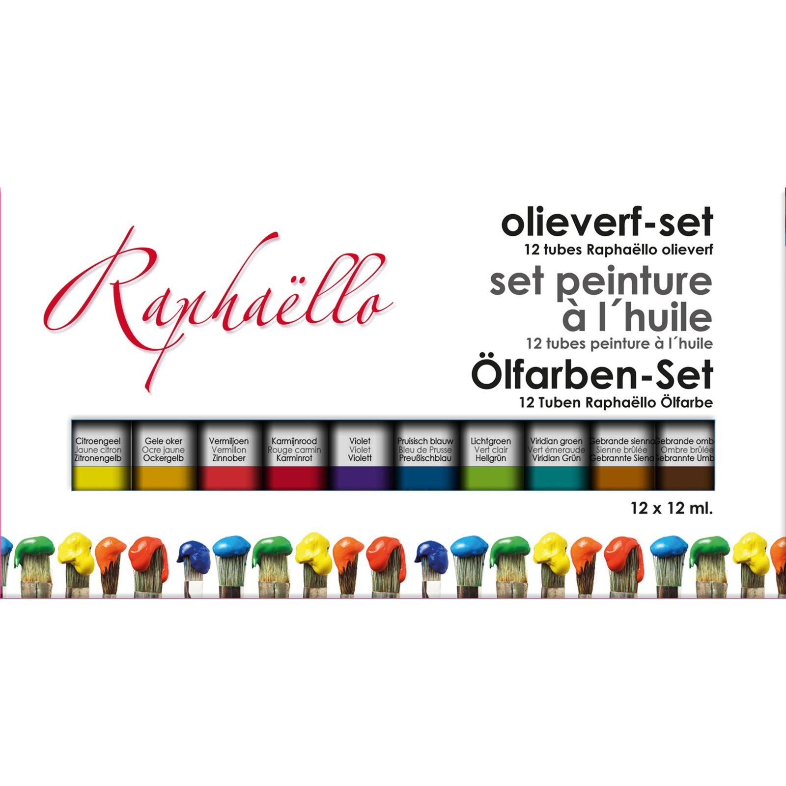 12-teiliges Ölfarben-Set - 12 x 12 g