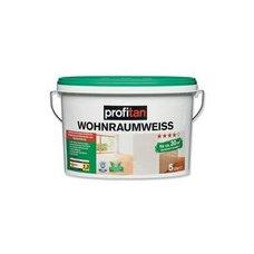 Profitan Wohnraumweiss Wand  Und Deckenfarbe   5 Liter