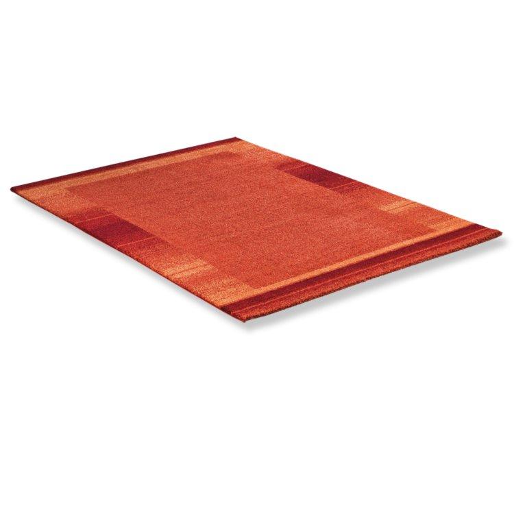 teppich wien orange 160x230 cm gemusterte teppiche teppiche l ufer deko haushalt. Black Bedroom Furniture Sets. Home Design Ideas