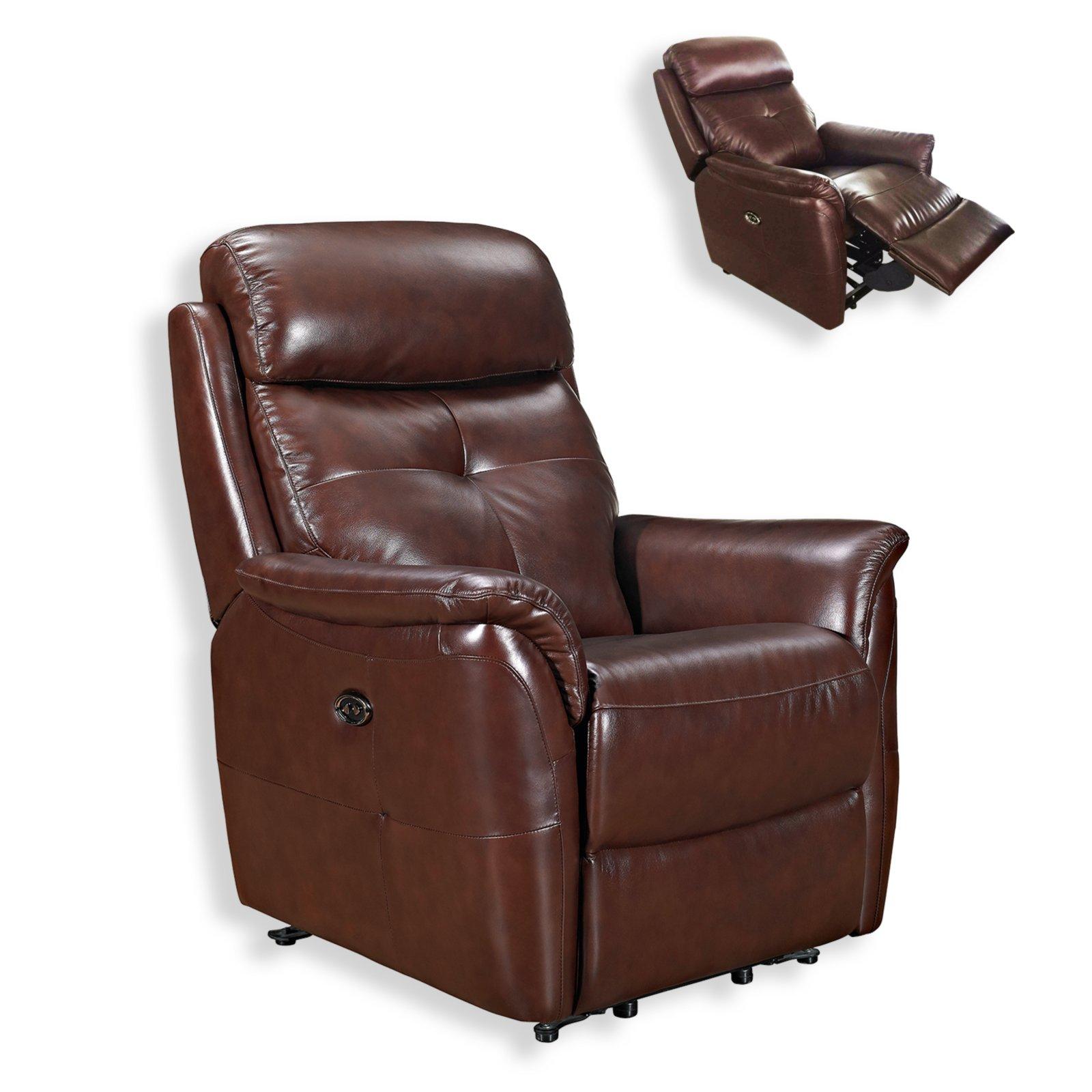ledersessel braun taschenfederkern ledersessel sessel hocker m bel roller m belhaus. Black Bedroom Furniture Sets. Home Design Ideas