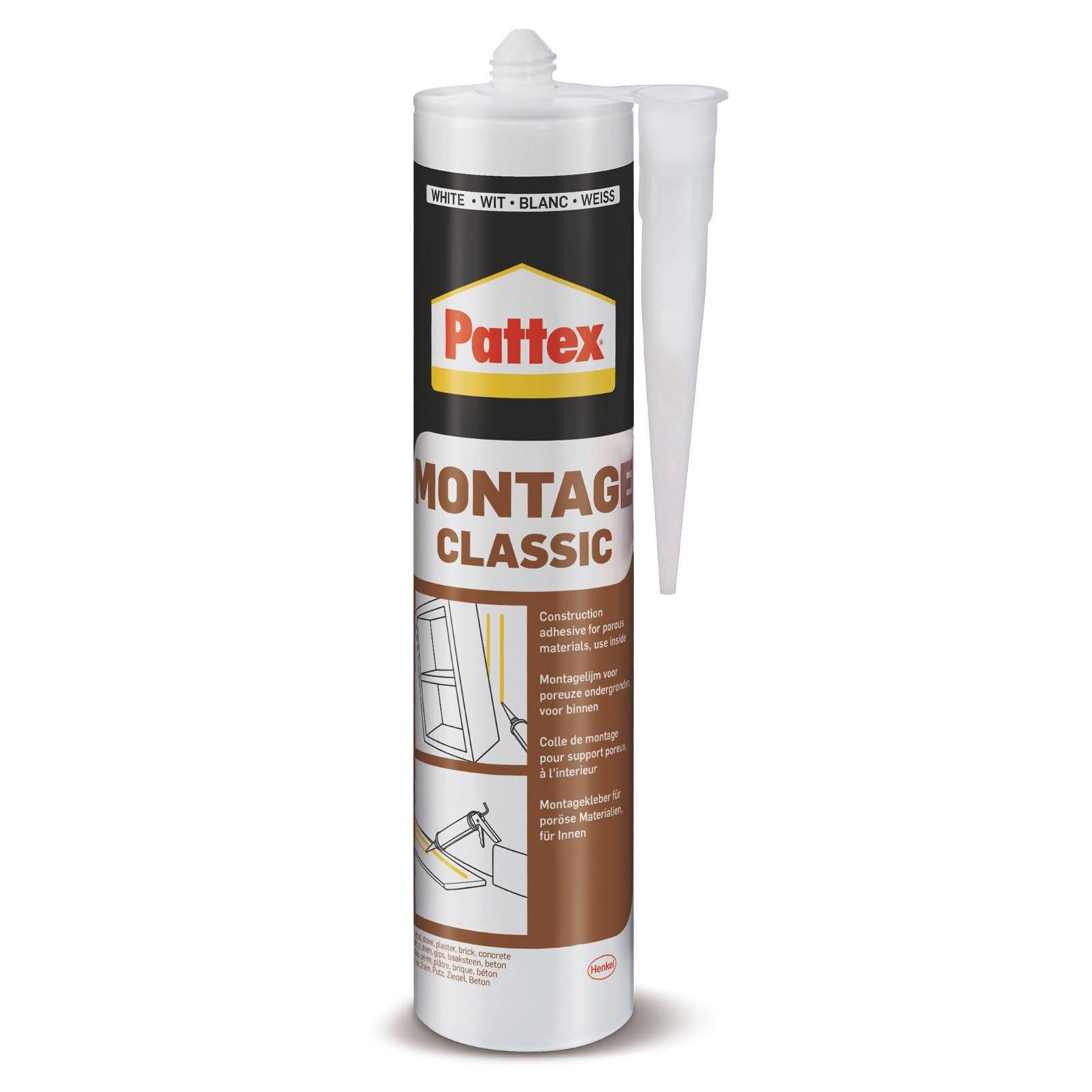 pattex montagekleber classic - weiß - 400 g | kleber & leim