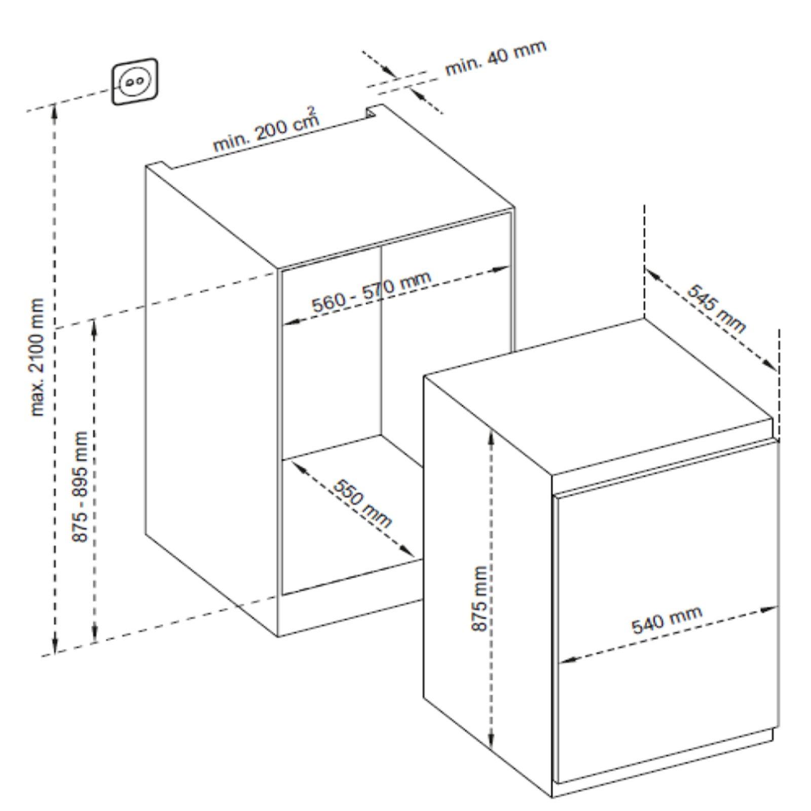 TELEFUNKEN Einbaukühlschrank TFEKS88X10 - A++ | Kühlschränke | Kühl ...