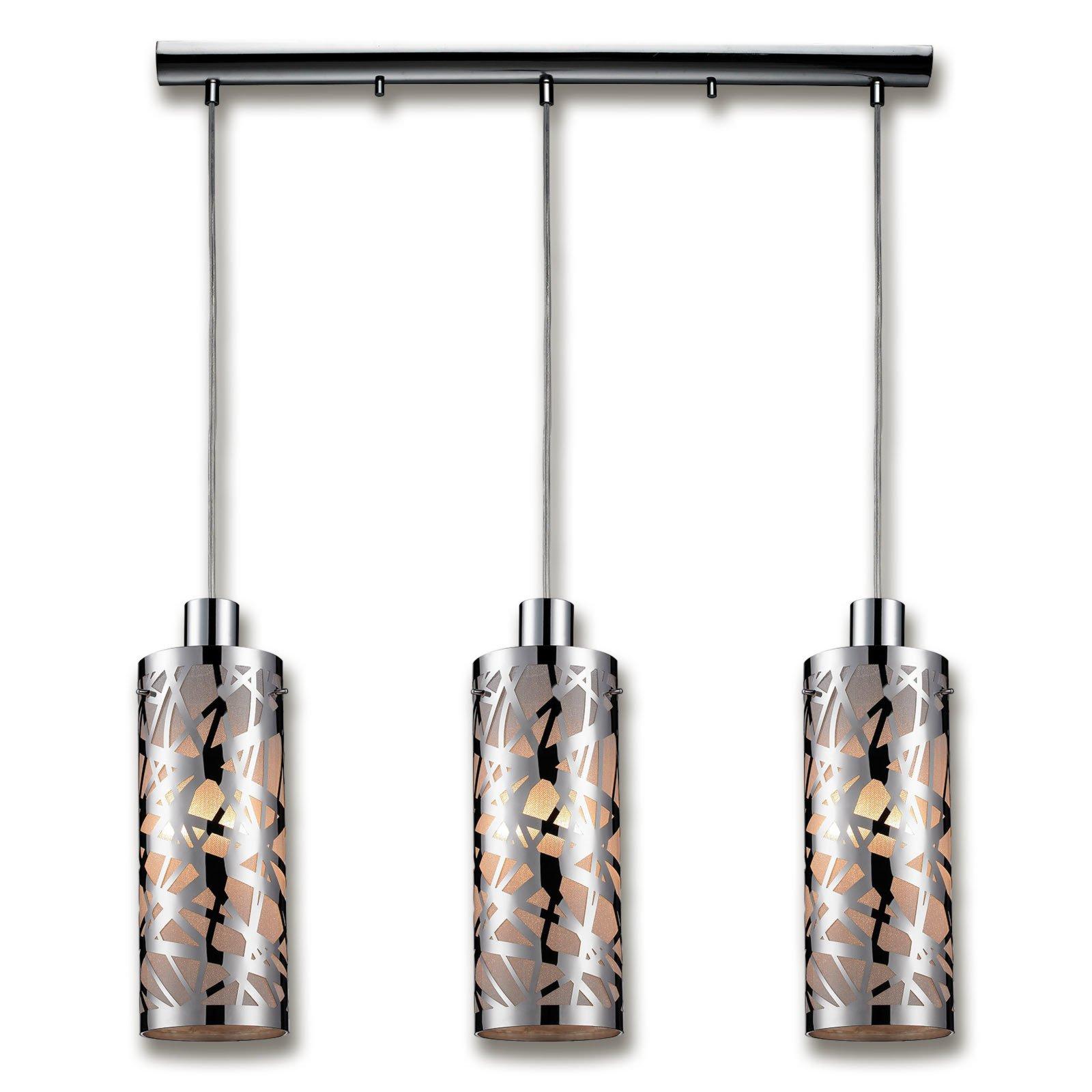 Pendelleuchte birdy chrom 67x80 cm pendelleuchten for Lampen roller