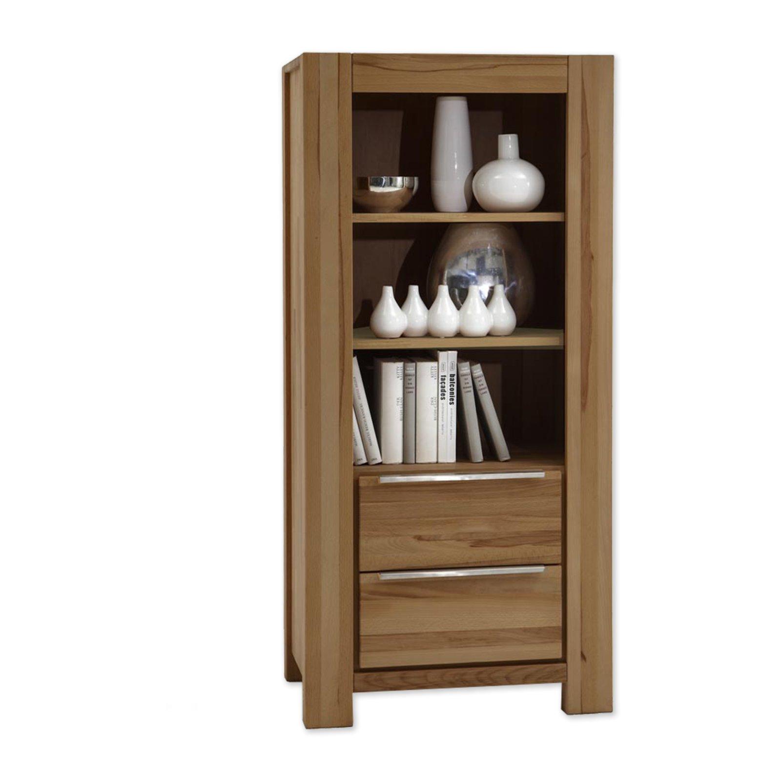 regal nena wildeiche massiv 66 cm wohnprogramm nena wohnprogramme wohnzimmer. Black Bedroom Furniture Sets. Home Design Ideas