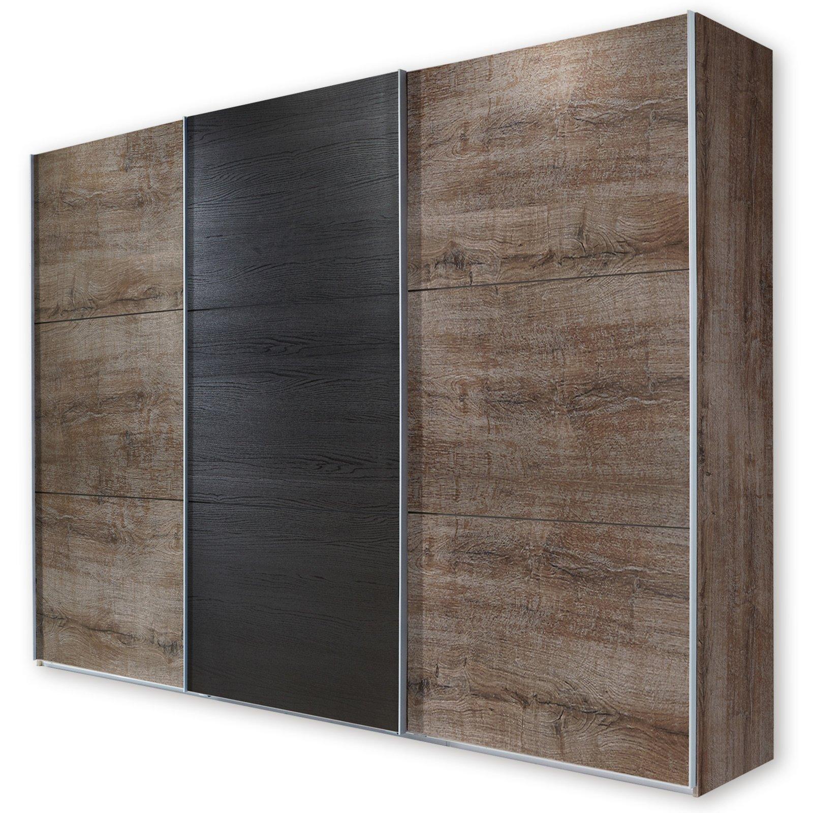 roller schwebet renschrank match up schlammeiche schwarzeiche 313 cm ebay. Black Bedroom Furniture Sets. Home Design Ideas
