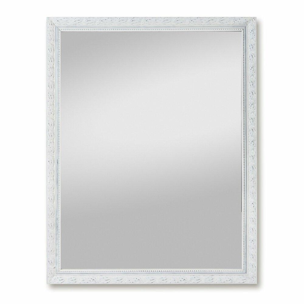 spiegel pius wei holzrahmen 55x70 cm aktion. Black Bedroom Furniture Sets. Home Design Ideas
