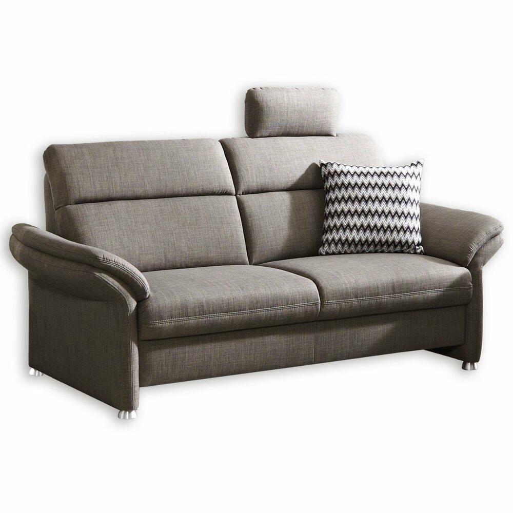 2 sitzer sofa grau mit staukasten einzelsofas 2er 3er 4er sofas couches m bel. Black Bedroom Furniture Sets. Home Design Ideas
