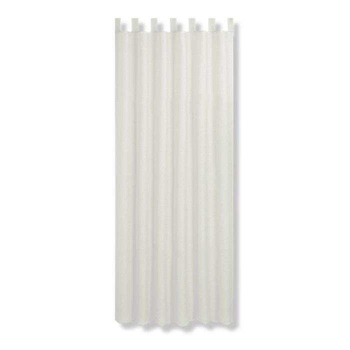 Schlaufenschal GRANATE - weiß - 135x235 cm