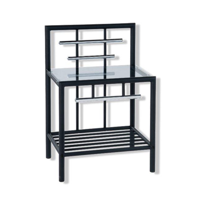 nachttisch metall silber fabulous affordable ikea nachttisch metall aus holz glas gnstig online. Black Bedroom Furniture Sets. Home Design Ideas