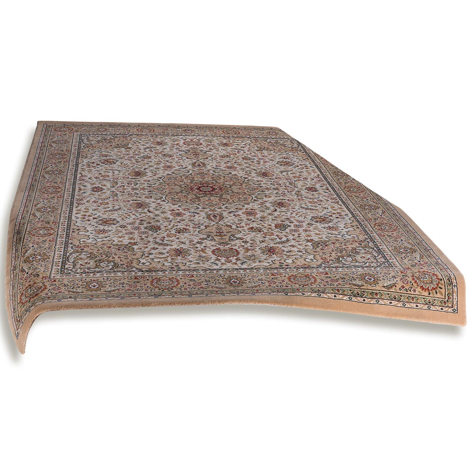 teppich taiga creme 240x340 cm orient teppiche teppiche l ufer deko haushalt. Black Bedroom Furniture Sets. Home Design Ideas