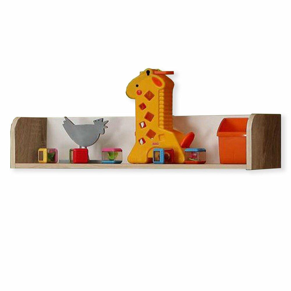 wandregal winnie sonoma eiche wei 80 cm wandregale boards regale m bel roller. Black Bedroom Furniture Sets. Home Design Ideas