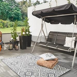 die teppiche fur draussen kommen besonders oft im eingangsbereich vor aber auch auf der terrasse oder dem balkon auch diese teppiche gibt es in allen