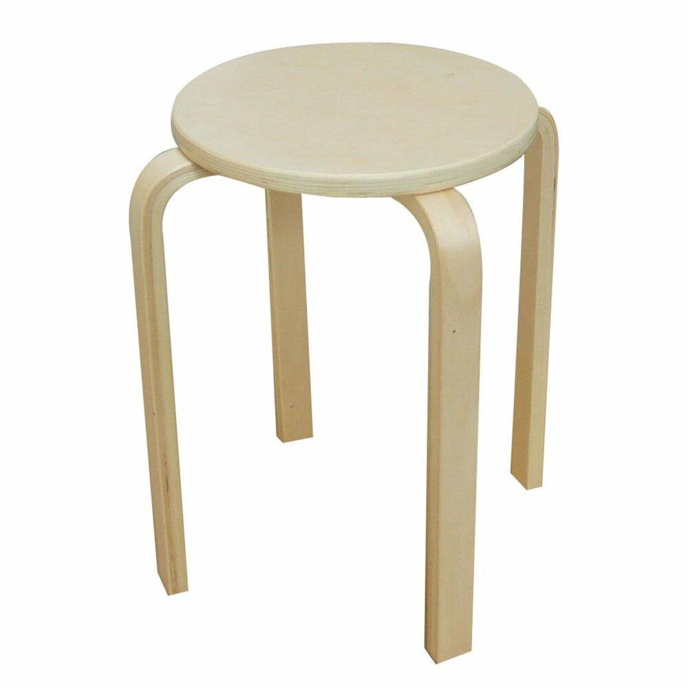 hocker birke massivholz 32 cm 45 cm hoch. Black Bedroom Furniture Sets. Home Design Ideas