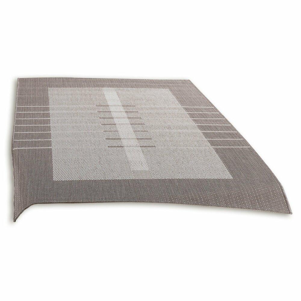 in outdoorteppich oslo ecru taupe 160x230 cm gemusterte teppiche teppiche l ufer. Black Bedroom Furniture Sets. Home Design Ideas