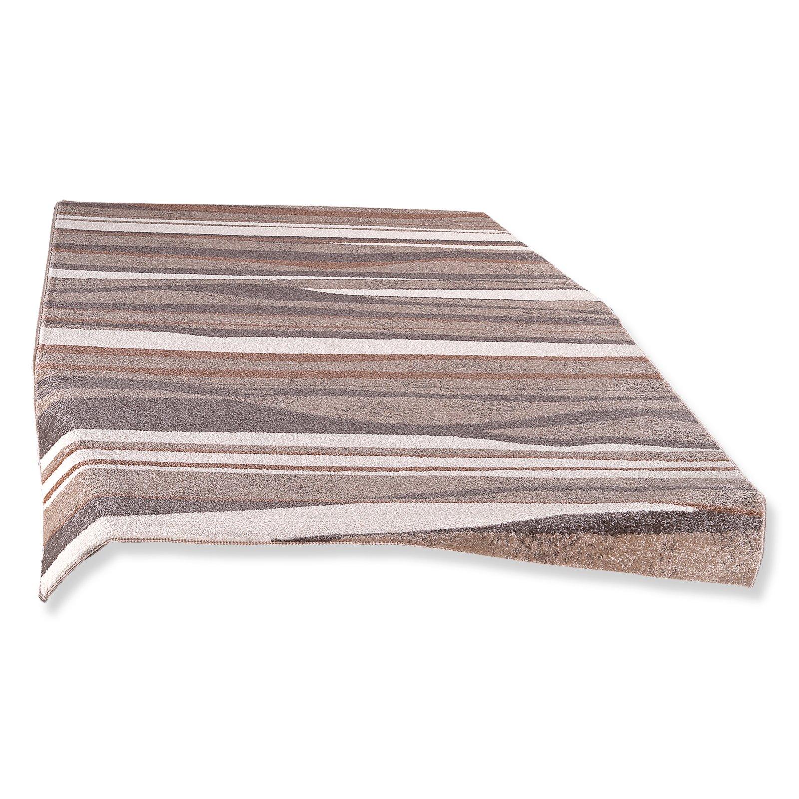 teppich beige 160x230 cm gemusterte teppiche teppiche l ufer deko haushalt. Black Bedroom Furniture Sets. Home Design Ideas