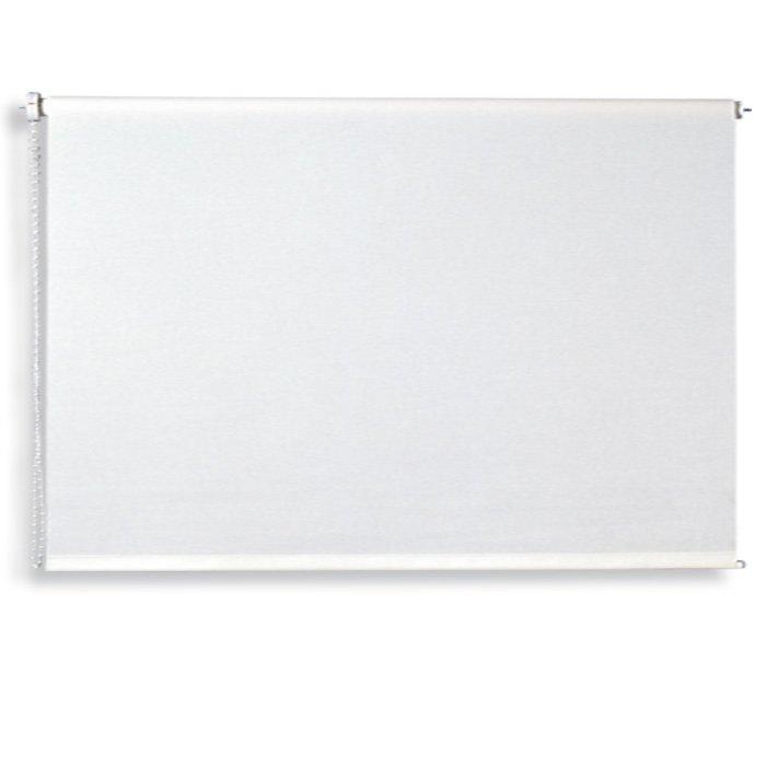 Verdunklungsrollo - weiß - 220x180 cm