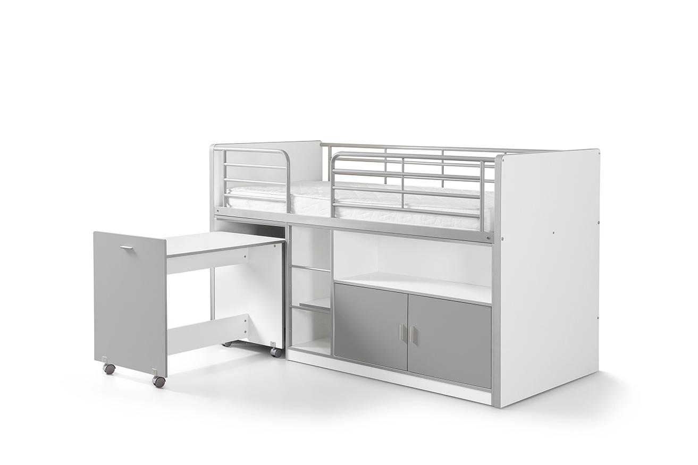 Hochbett Mit Schreibtisch Weiß 2021