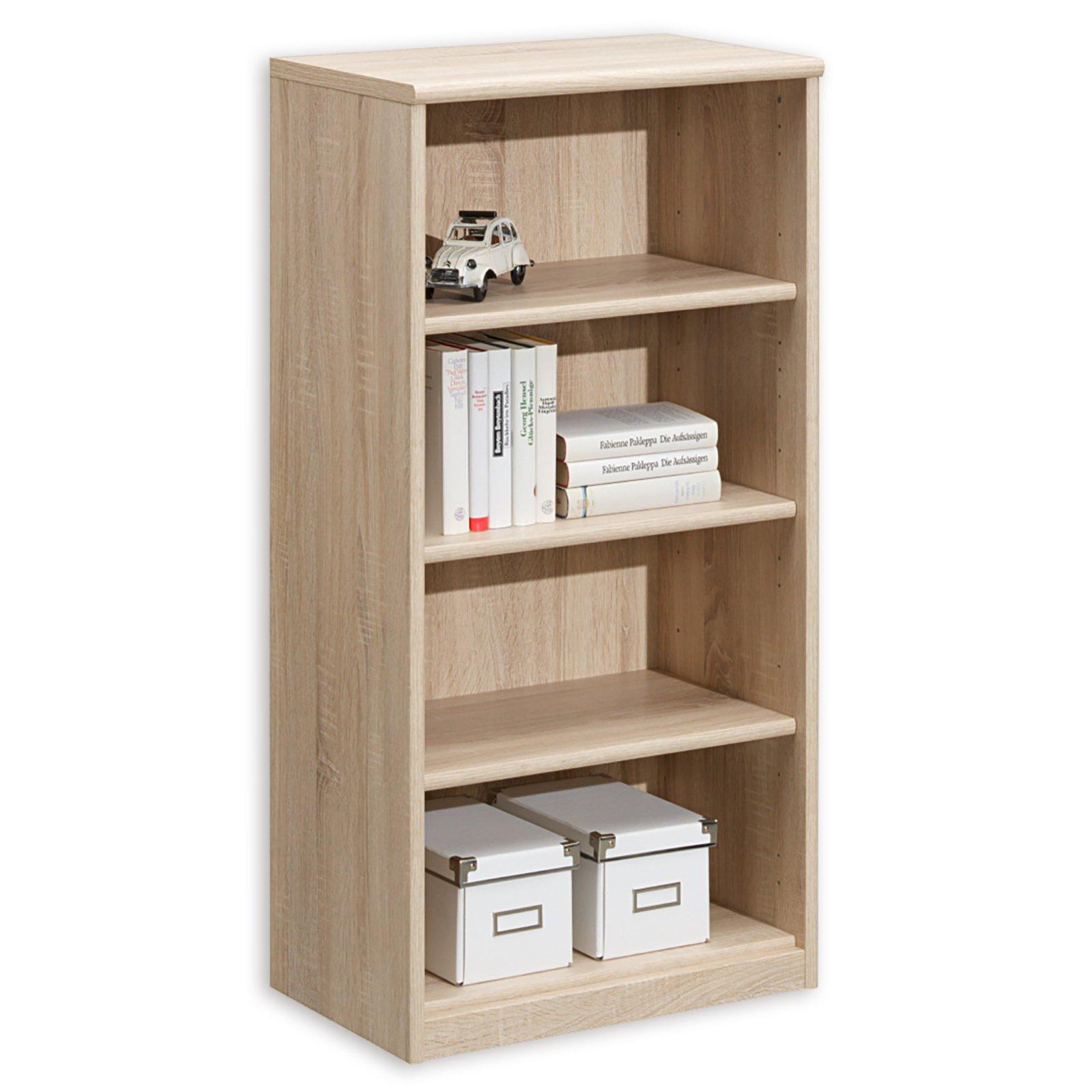 regal soft 051 41 eiche 55 cm breit wohnprogramm. Black Bedroom Furniture Sets. Home Design Ideas