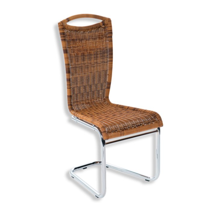 stuhl vivian honig braun rattan optik st hle. Black Bedroom Furniture Sets. Home Design Ideas