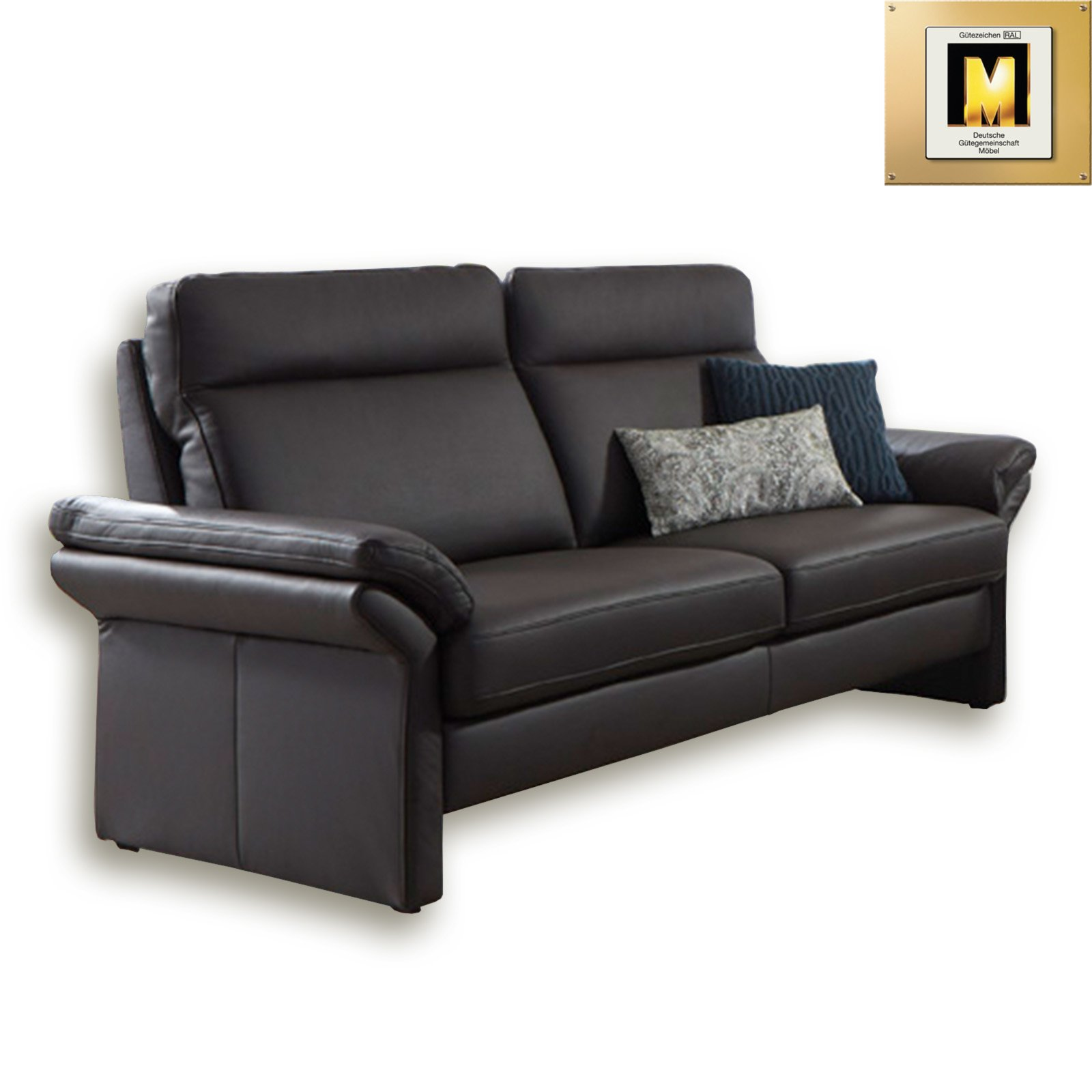 3 sitzer ledersofa braun federkern move funktion polstergarnitur braun federkern. Black Bedroom Furniture Sets. Home Design Ideas