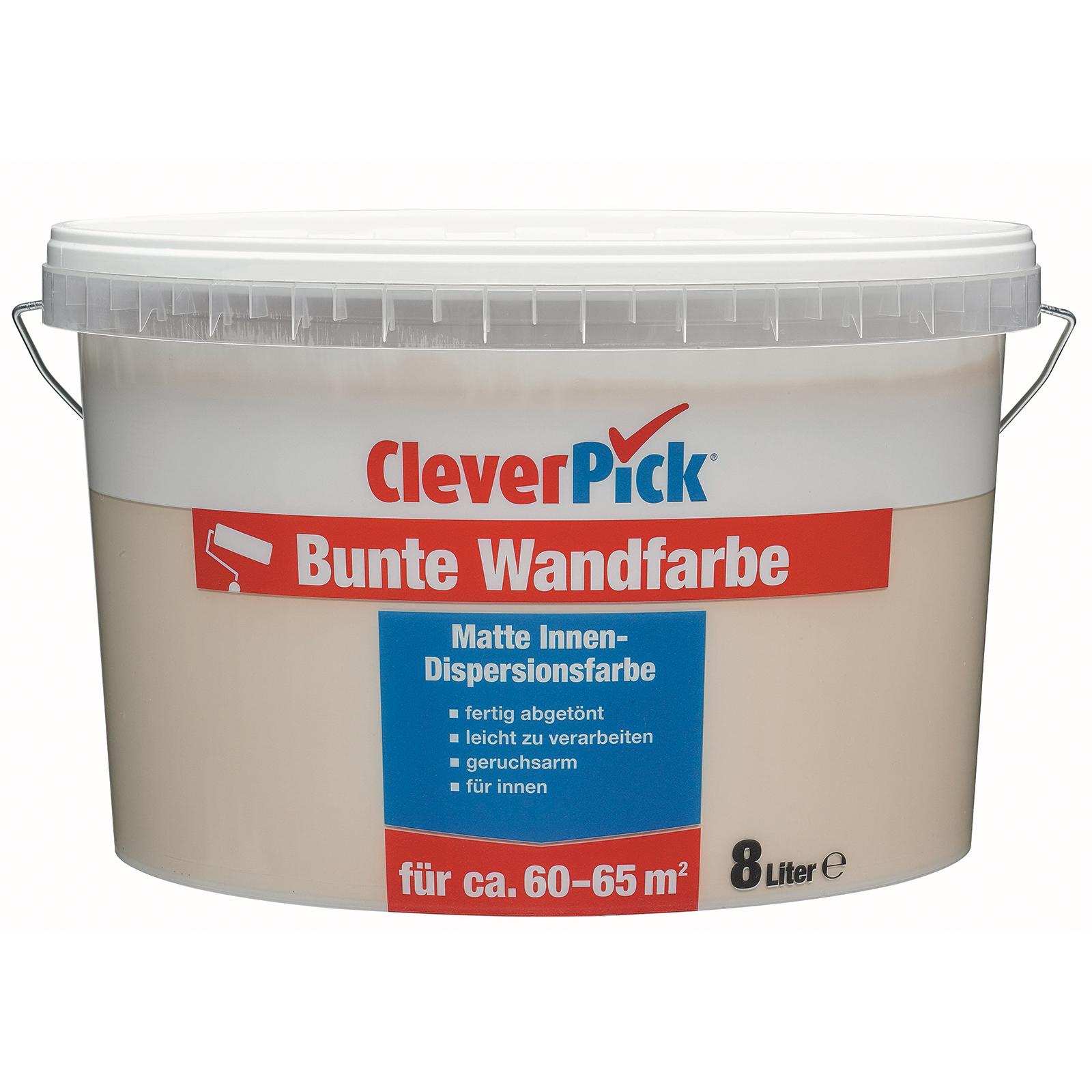 Cleverpick Bunte Wandfarbe Cappuccino 8 Liter Online Bei Roller Kaufen