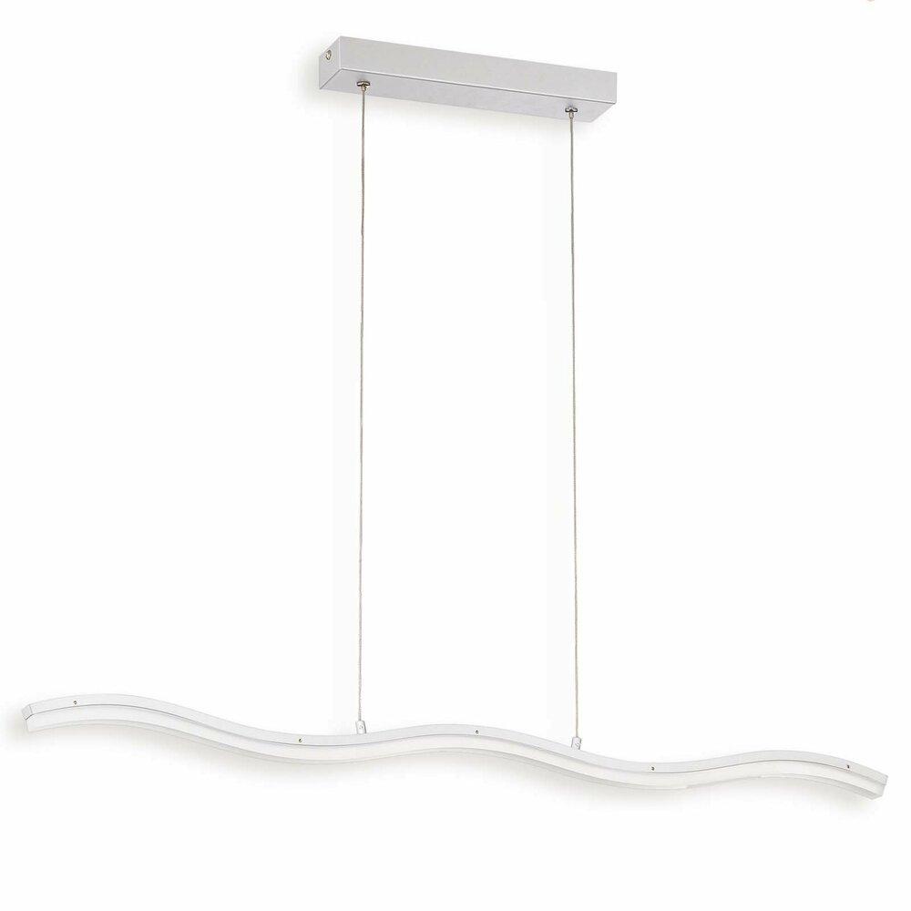 led pendelleuchte long wave silber acrylangebot bei. Black Bedroom Furniture Sets. Home Design Ideas