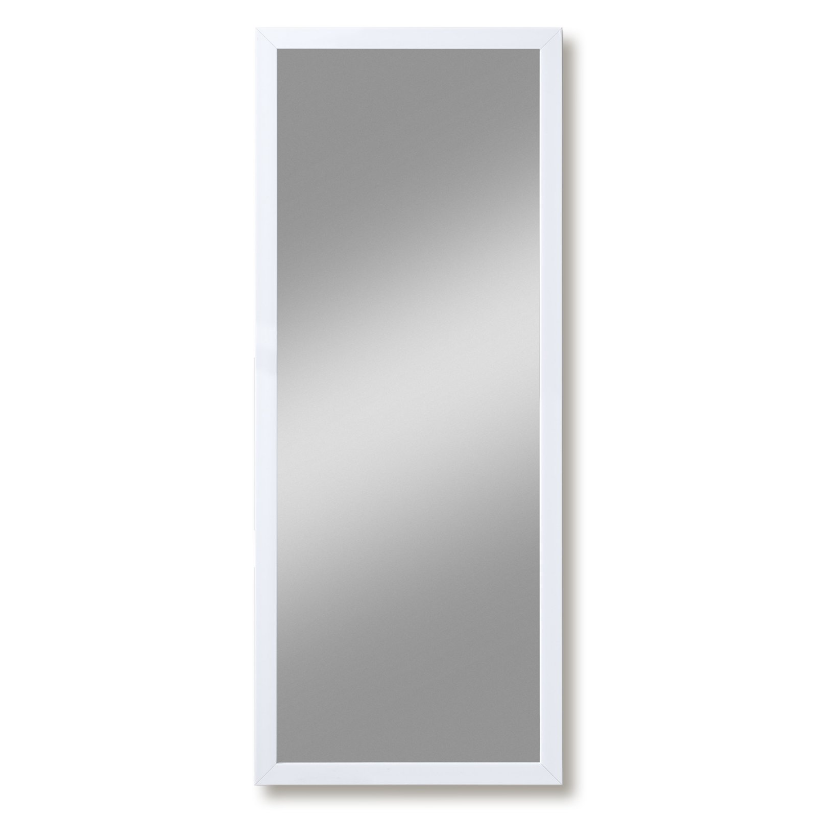 spiegel beach wei gl nzend 40x100 cm wandspiegel spiegel deko haushalt m belhaus. Black Bedroom Furniture Sets. Home Design Ideas