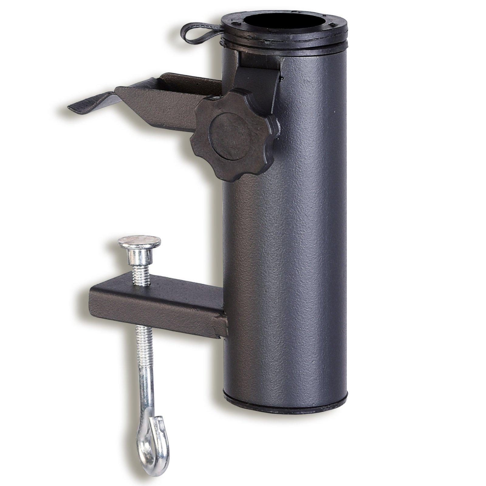 balkon sonnenschirmhalter anthrazit 5 4 cm schirmst nder halter sonnen sichtschutz. Black Bedroom Furniture Sets. Home Design Ideas