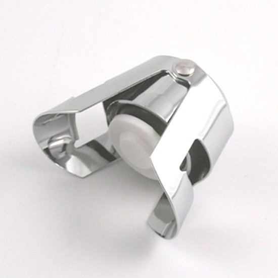 sektflaschenverschluss metall verchromt k chenhelfer. Black Bedroom Furniture Sets. Home Design Ideas