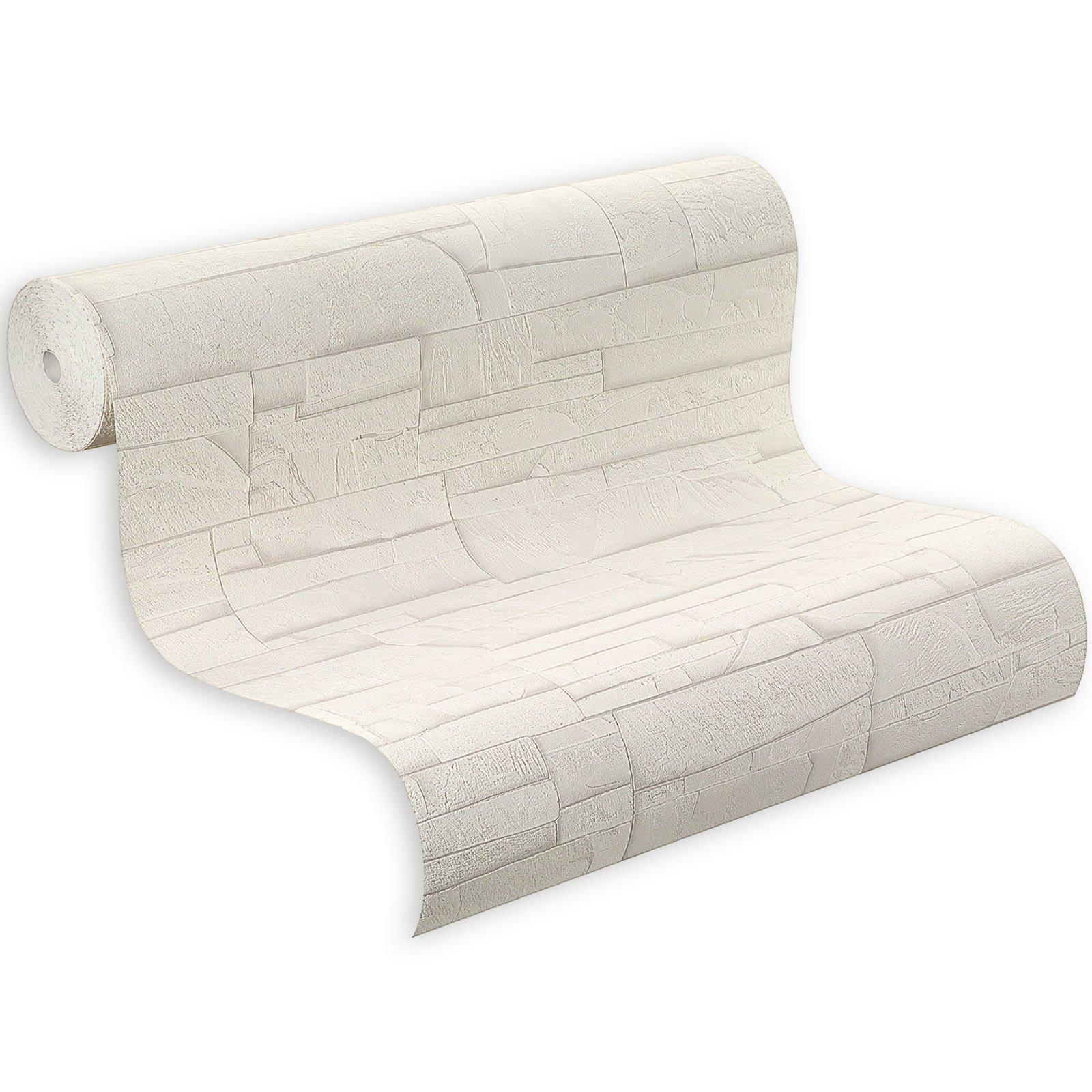vliestapete wei. Black Bedroom Furniture Sets. Home Design Ideas