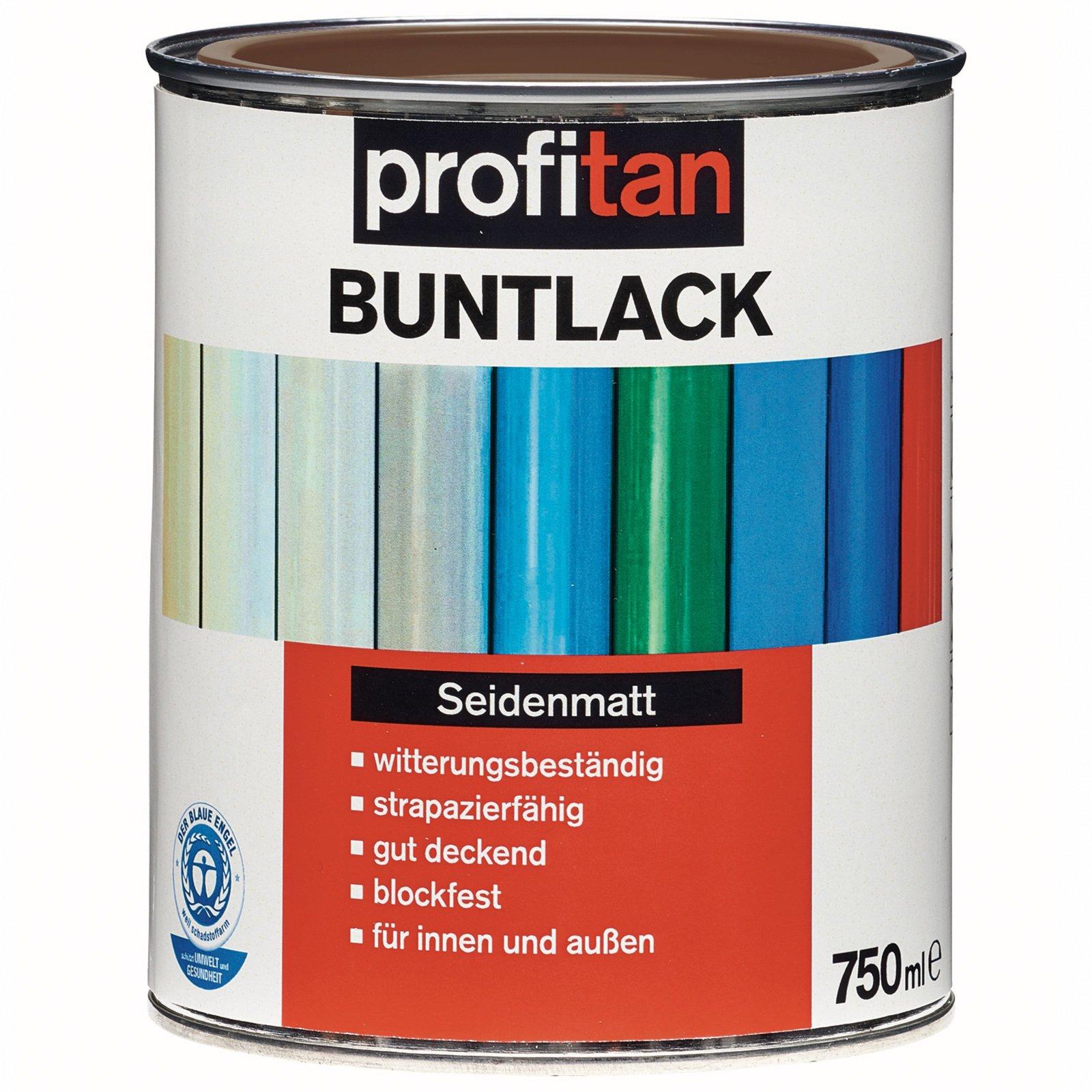 profitan Buntlack - nussbraun seidenmatt - 750 ml