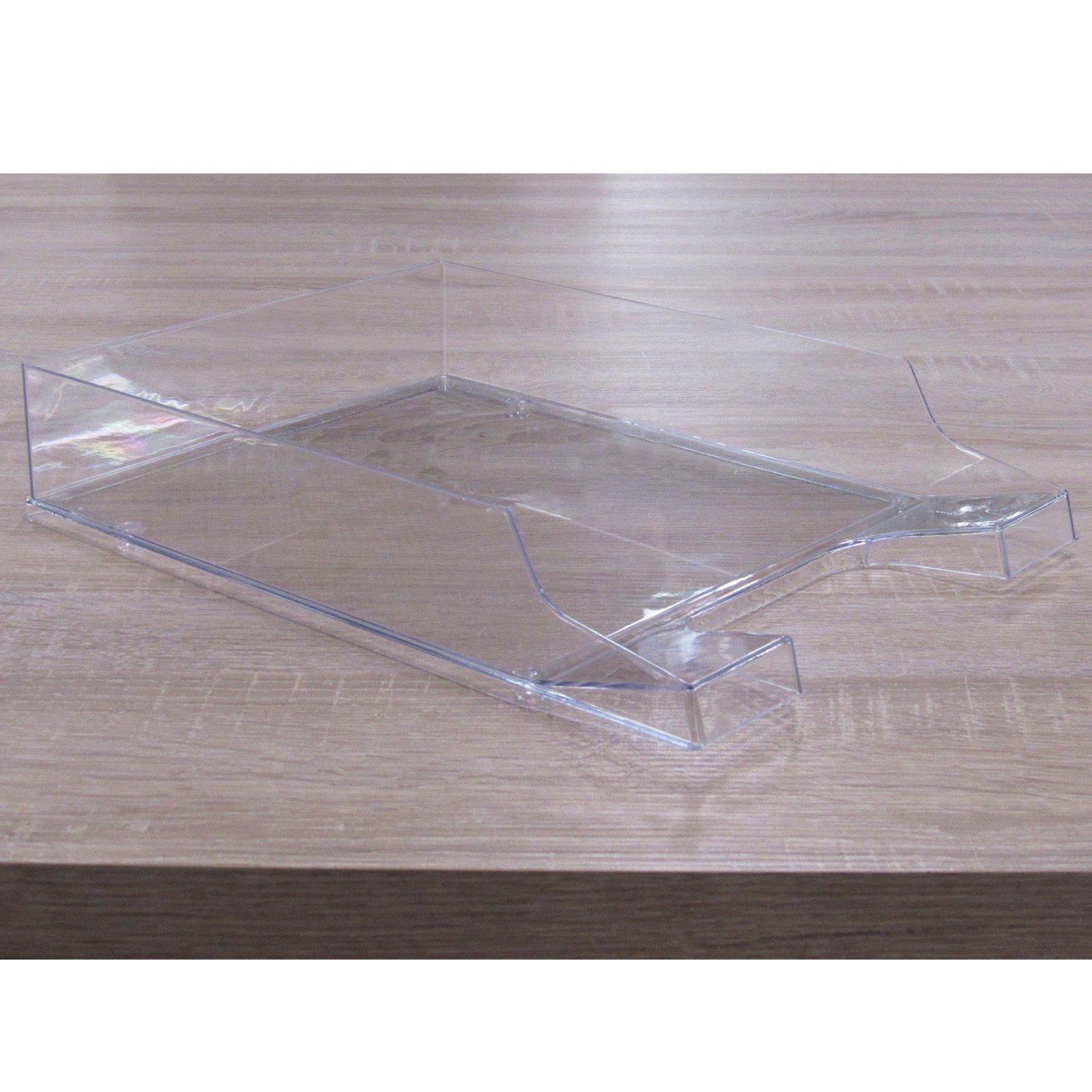 Dokumentenablage - transparent - Kunststoff