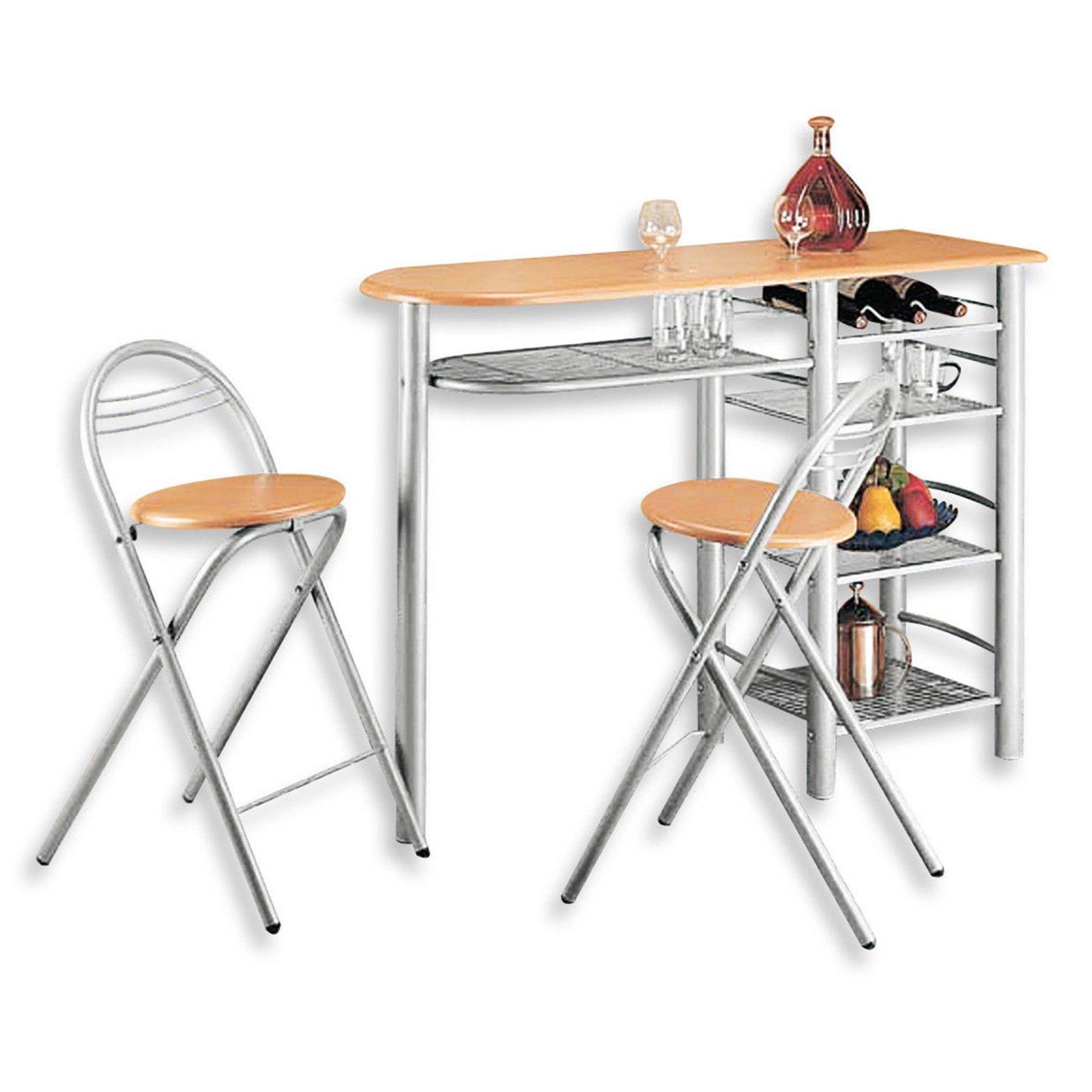 bartischgruppe else alu gestell 3 teilig bar sets barm bel m bel roller m belhaus. Black Bedroom Furniture Sets. Home Design Ideas