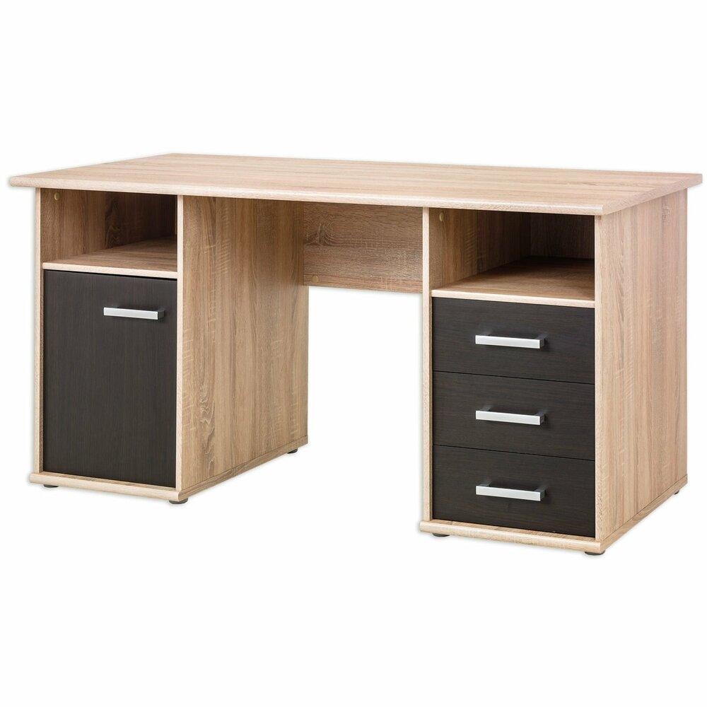 schreibtisch net rechteckige schreibtische. Black Bedroom Furniture Sets. Home Design Ideas