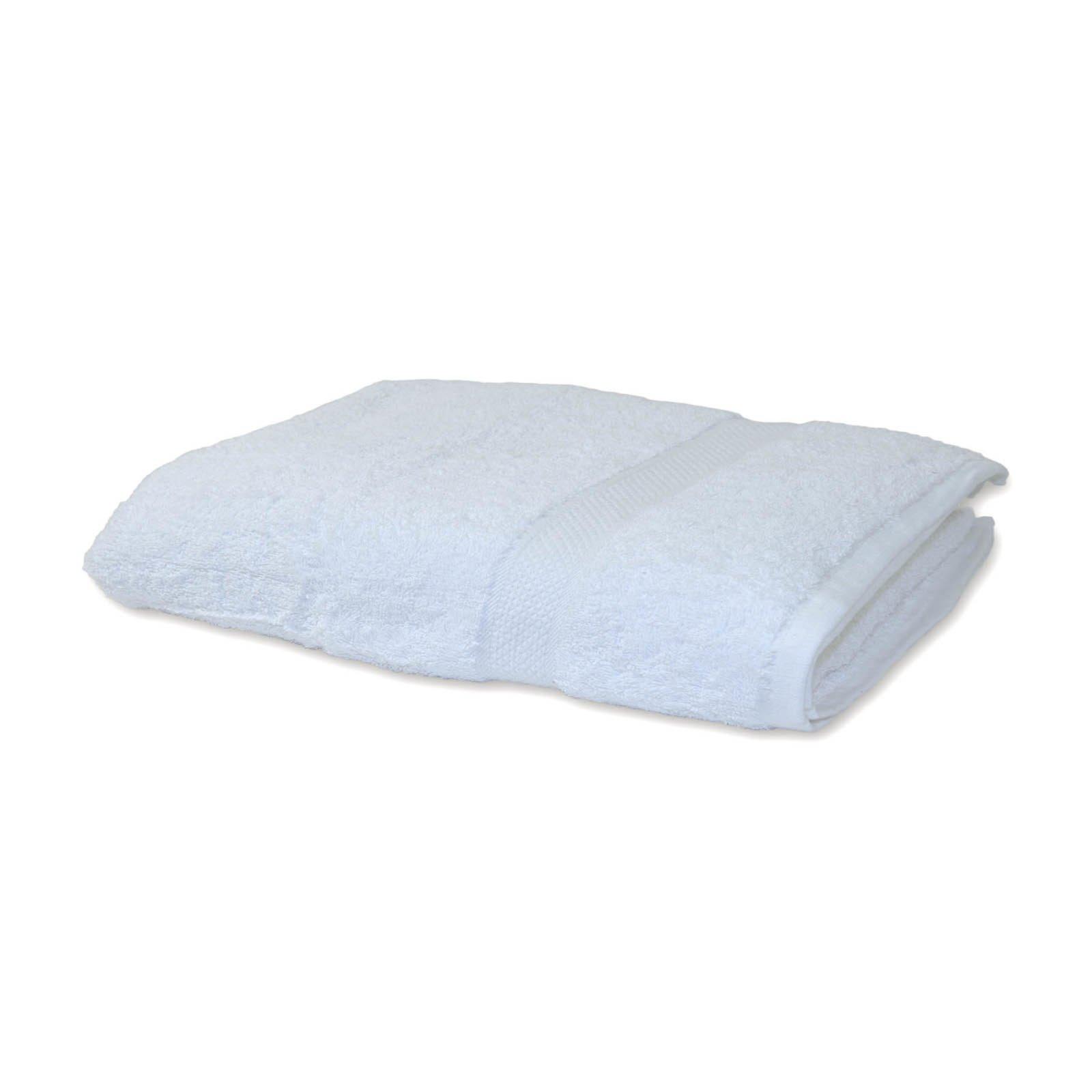 handtuch premium baumwolle wei 50x100 cm handt cher badtextilien bad accessoires. Black Bedroom Furniture Sets. Home Design Ideas