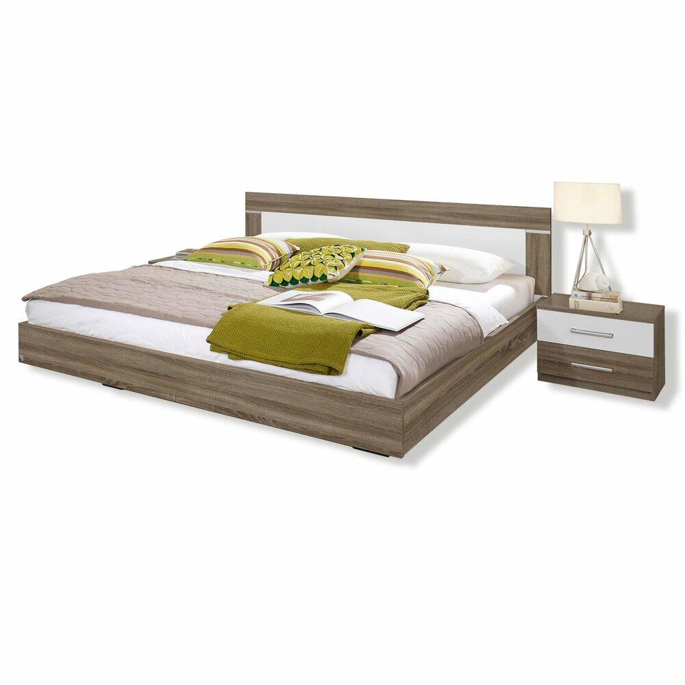 bettanlage venlo havanna eiche 180x200 cm bettgestelle betten m bel m belhaus roller. Black Bedroom Furniture Sets. Home Design Ideas