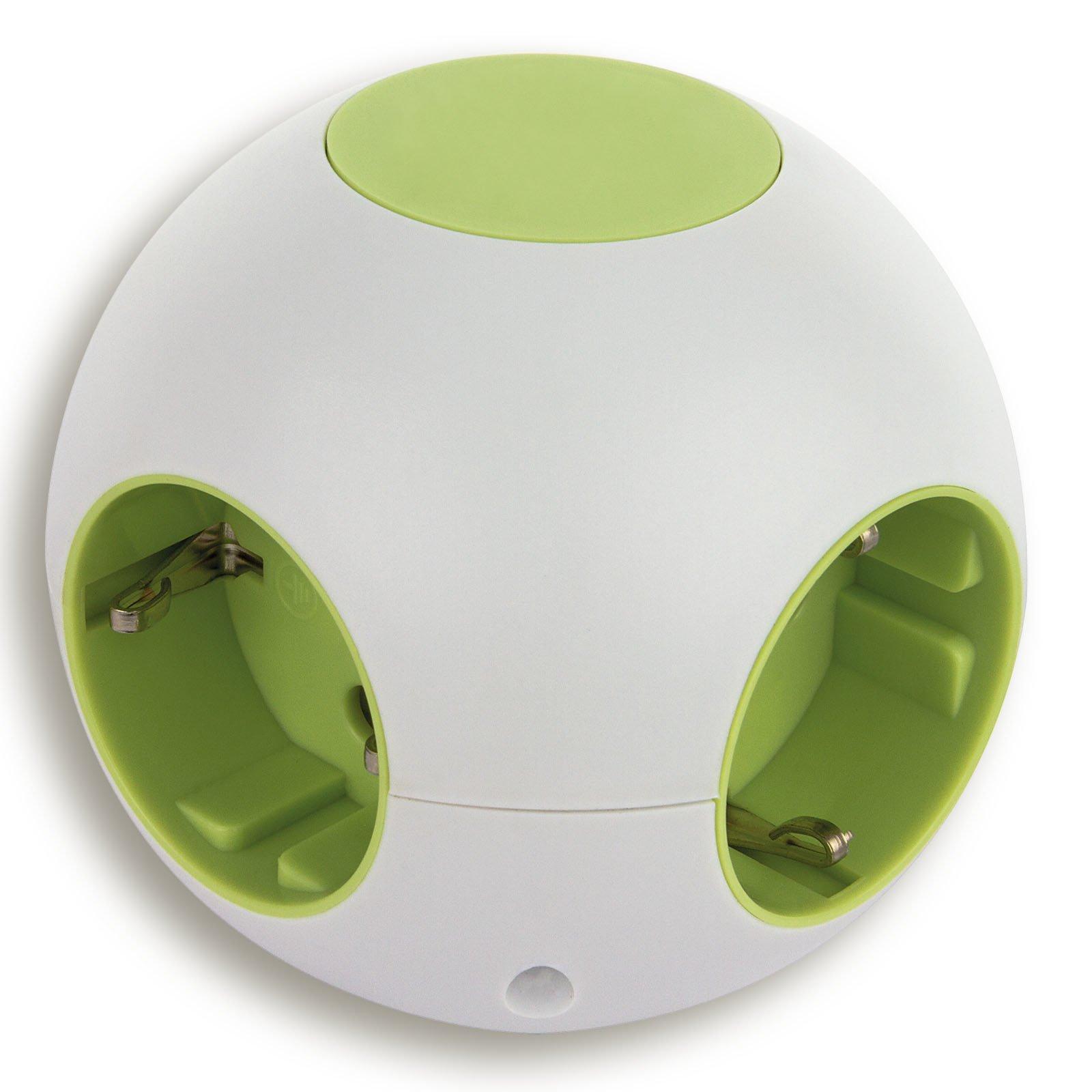 steckdosen kugel power globe kindersicherung steckdosen und kabel elektro und. Black Bedroom Furniture Sets. Home Design Ideas