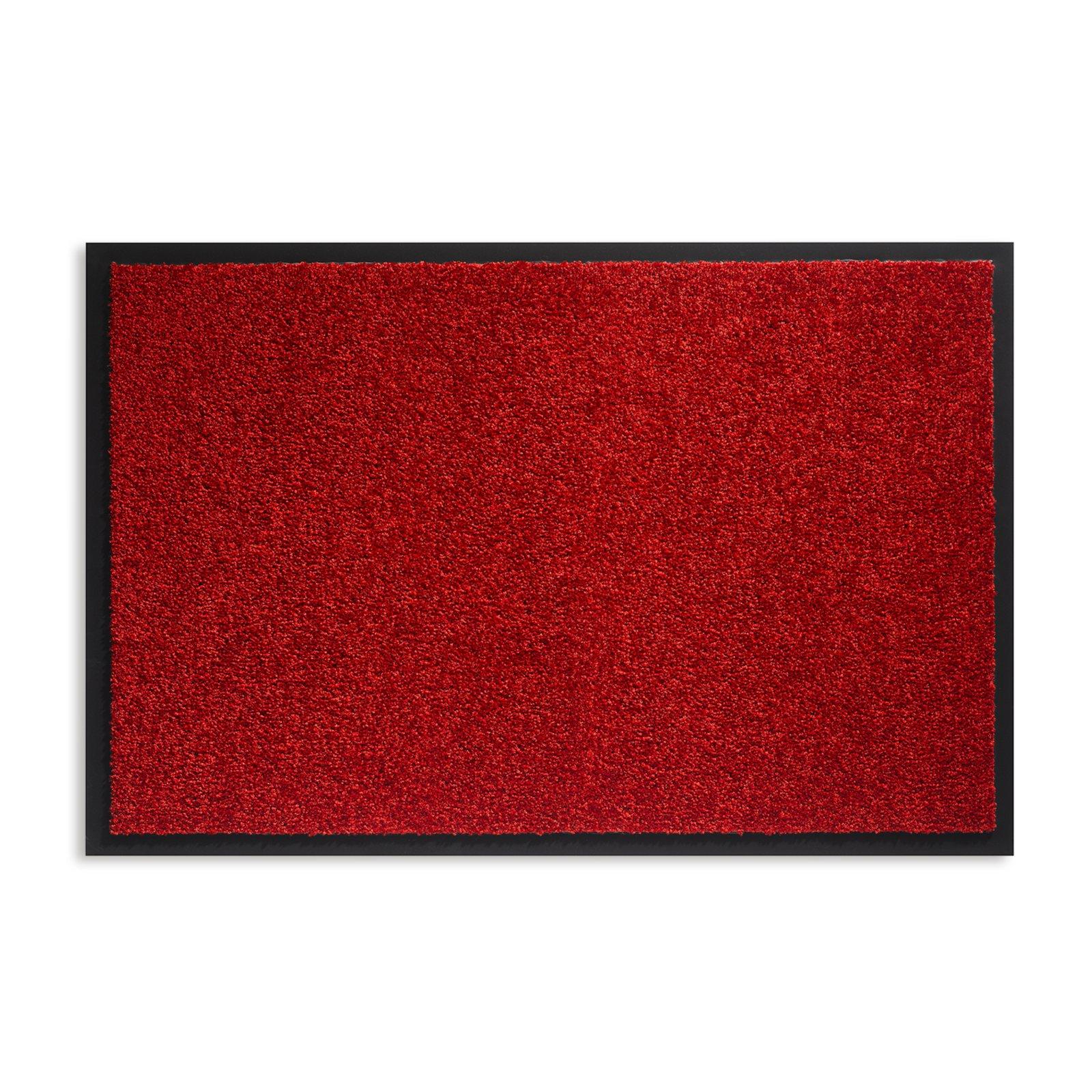 Fußmatte TWISTER - rot - 90x60 cm