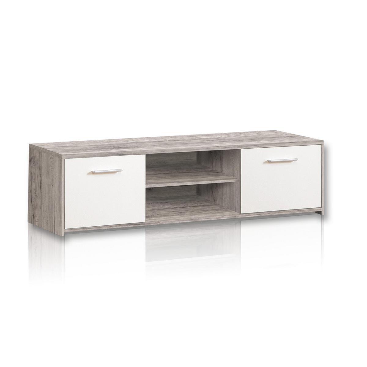tv unterschrank quadro sandeiche wei tv lowboards tv b nke tv hifi m bel m bel. Black Bedroom Furniture Sets. Home Design Ideas