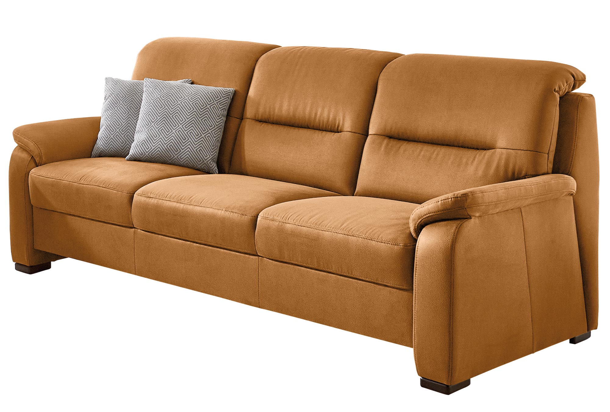 polsterpower 3-Sitzer-Sofa - braun - Microfaser   Online ...