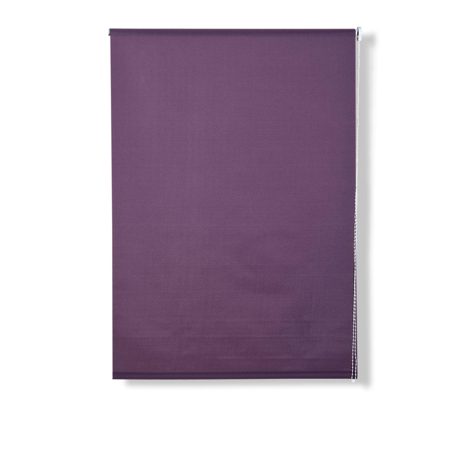 rollo aubergine 80x180 cm sichtschutzrollos rollos jalousien deko haushalt. Black Bedroom Furniture Sets. Home Design Ideas