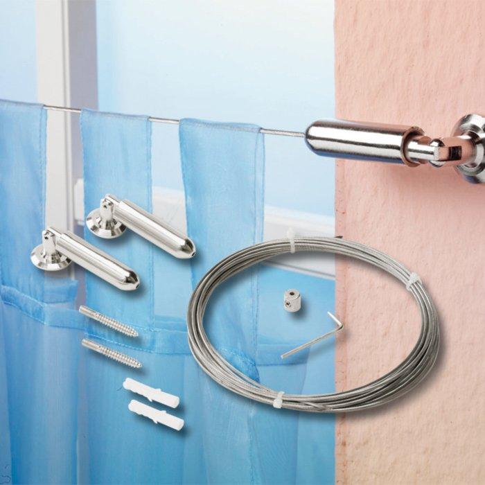 seilspanngarnitur duschvorh nge rollos badezimmer. Black Bedroom Furniture Sets. Home Design Ideas