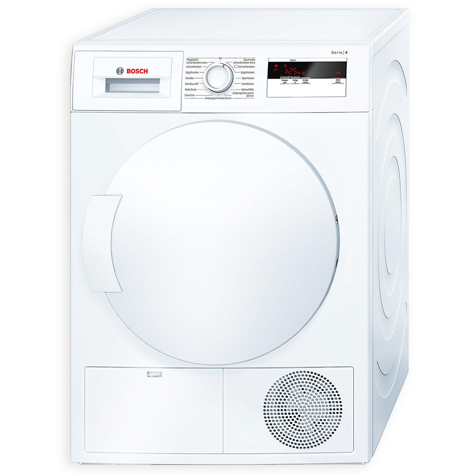 Eitelkeit Trockner Dekoration Von Bosch Wärmepumpentrockner Wth83000 - Kondensation - A+
