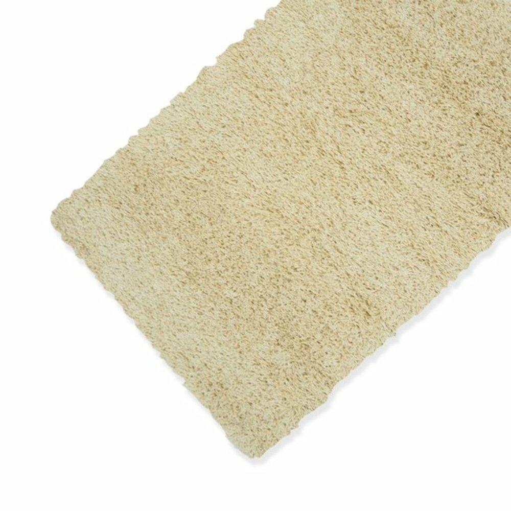 teppich shaggy cream 160x230 cm hochflor shaggyteppiche teppiche l ufer deko. Black Bedroom Furniture Sets. Home Design Ideas