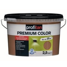 profitan Wandfarbe Premium Color - hot chocolate edelmatt - 2,5 Liter