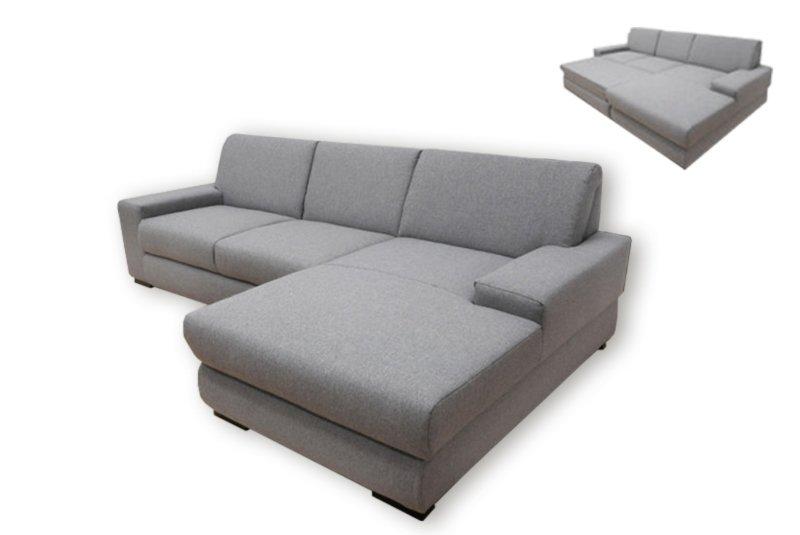 ecksofa grau liegefunktion recamiere rechts ecksofas l form sofas couches m bel. Black Bedroom Furniture Sets. Home Design Ideas