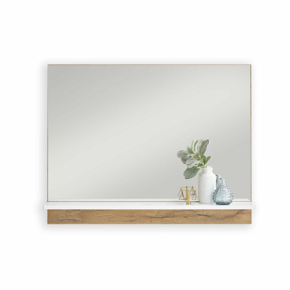 spiegel bristol alteiche wei 60 cm breit garderobe bristol garderobenprogramme flur. Black Bedroom Furniture Sets. Home Design Ideas