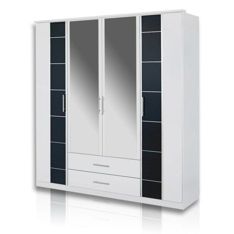 kleiderschrank tojo alpinwei 181 cm breit. Black Bedroom Furniture Sets. Home Design Ideas